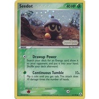 Seedot 61/92 EX Legend Maker Reverse Holo Common Pokemon Card NEAR MINT TCG