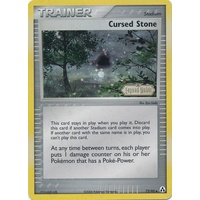 Cursed Stone 72/92 EX Legend Maker Reverse Holo Uncommon Trainer Pokemon Card NEAR MINT TCG
