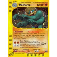 Machamp 16/165 E-Series Expedition Holo Rare Pokemon Card NEAR MINT TCG