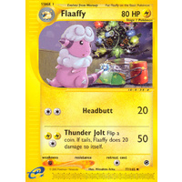 Flaafy 77/165 E-Series Expedition Uncommon Pokemon Card NEAR MINT TCG
