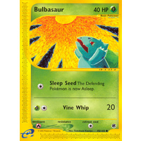 Bulbasaur 95/165 E-Series Expedition Common Pokemon Card NEAR MINT TCG