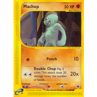 Machop 117/165 E-Series Expedition Common Pokemon Card NEAR MINT TCG
