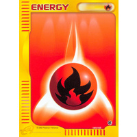Fire Energy 161/165 E-Series Expedition Common Pokemon Card NEAR MINT TCG