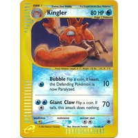 Kingler 15/165 E-Series Expedition Reverse Holo Rare Pokemon Card NEAR MINT TCG