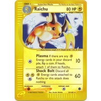 Raichu 25/165 E-Series Expedition Reverse Holo Rare Pokemon Card NEAR MINT TCG
