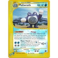 Poliwrath 60/165 E-Series Expedition Reverse Holo Rare Pokemon Card NEAR MINT TCG