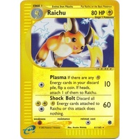 Raichu 61/165 E-Series Expedition Reverse Holo Rare Pokemon Card NEAR MINT TCG