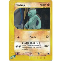 Machop 117/165 E-Series Expedition Reverse Holo Common Pokemon Card NEAR MINT TCG