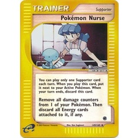 Pokemon  Nurse 145/165 E-Series Expedition Reverse Holo Uncommon Trainer Pokemon Card NEAR MINT TCG