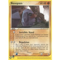 Nosepass 18/109 EX Ruby and Sapphire Rare Pokemon Card NEAR MINT TCG