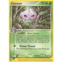 Cascoon 26/109 EX Ruby and Sapphire Uncommon Pokemon Card NEAR MINT TCG