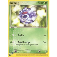 Koffing 54/109 EX Ruby and Sapphire Common Pokemon Card NEAR MINT TCG
