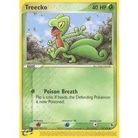 Treecko 75/109 EX Ruby and Sapphire Common Pokemon Card NEAR MINT TCG