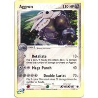 Aggron 1/109 EX Ruby and Sapphire Reverse Holo Rare Pokemon Card NEAR MINT TCG