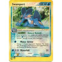 Swampert 23/109 EX Ruby and Sapphire Reverse Holo Rare Pokemon Card NEAR MINT TCG