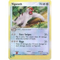 Vigoroth 47/109 EX Ruby and Sapphire Reverse Holo Uncommon Pokemon Card NEAR MINT TCG