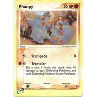 Phanpy 62/109 EX Ruby and Sapphire Reverse Holo Common Pokemon Card NEAR MINT TCG