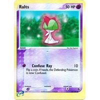 Ralts 66/109 EX Ruby and Sapphire Reverse Holo Common Pokemon Card NEAR MINT TCG