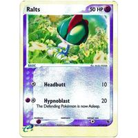 Ralts 67/109 EX Ruby and Sapphire Reverse Holo Common Pokemon Card NEAR MINT TCG