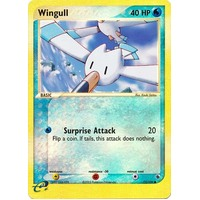 Wingull 77/109 EX Ruby and Sapphire Reverse Holo Common Pokemon Card NEAR MINT TCG