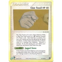 Claw Fossil 90/100 EX Sandstorm Reverse Holo Common Trainer Pokemon Card NEAR MINT TCG
