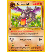Aerodactyl 16/62 Fossil Set 1st Edition Rare Pokemon Card NEAR MINT TCG