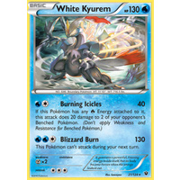 White Kyurem 21/124 XY Fates Collide Holo Rare Pokemon Card NEAR MINT TCG