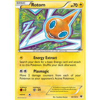 Rotom 24/124 XY Fates Collide Rare Pokemon Card NEAR MINT TCG