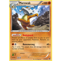 Marowak 37/124 XY Fates Collide Rare Pokemon Card NEAR MINT TCG