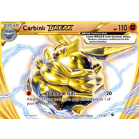 Carbink Break 51/124 XY Fates Collide Holo Ultra Rare Pokemon Card NEAR MINT TCG