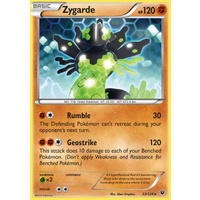 Zygarde 53/124 XY Fates Collide Rare Pokemon Card NEAR MINT TCG