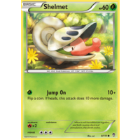 Shelmet 8/111 XY Furious Fists Common Pokemon Card NEAR MINT TCG