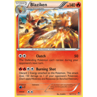 Blaziken 14/111 XY Furious Fists Holo Rare Pokemon Card NEAR MINT TCG