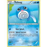 Poliwag 15/111 XY Furious Fists Common Pokemon Card NEAR MINT TCG