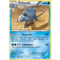 Poliwrath 17/111 XY Furious Fists Holo Rare Pokemon Card NEAR MINT TCG