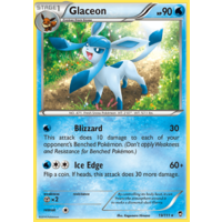 Glaceon 19/111 XY Furious Fists Rare Pokemon Card NEAR MINT TCG