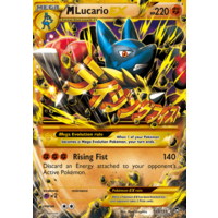 Mega Lucario 113/111 XY Furious Fists Holo Secret Rare Full Art Pokemon Card NEAR MINT TCG