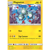 Magneton 35/131 SM Forbidden Light Uncommon Pokemon Card NEAR MINT TCG