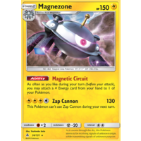 Magnezone 36/131 SM Forbidden Light Holo Rare Pokemon Card NEAR MINT TCG