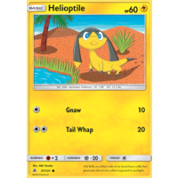 Helioptile 37/131 SM Forbidden Light Common Pokemon Card NEAR MINT TCG