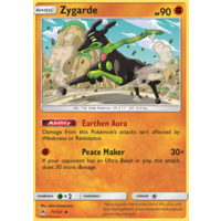 Zygarde 71/131 SM Forbidden Light Uncommon Pokemon Card NEAR MINT TCG