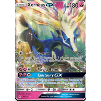 Xerneas GX 90/131 SM Forbidden Light Holo Ultra Rare Pokemon Card NEAR MINT TCG