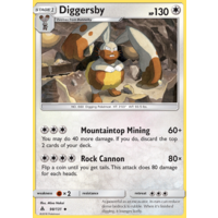 Diggersby 98/131 SM Forbidden Light Uncommon Pokemon Card NEAR MINT TCG
