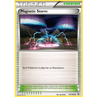 Magnetic Storm 91/106 XY Flashfire Uncommon Trainer Pokemon Card NEAR MINT TCG