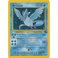 Articuno 2/62 Fossil Set Unlimited Holo Rare Pokemon Card NEAR MINT TCG
