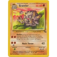 Graveler 37/62 Fossil Set Unlimited Uncommon Pokemon Card NEAR MINT TCG