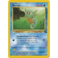 Horsea 49/62 Fossil Set Unlimited Common Pokemon Card NEAR MINT TCG