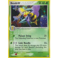 Beedrill 1/112 EX Fire Red & Leaf Green Holo Rare Pokemon Card NEAR MINT TCG