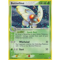 Butterfree 2/112 EX Fire Red & Leaf Green Holo Rare Pokemon Card NEAR MINT TCG