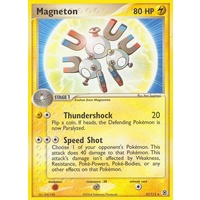 Magneton 27/112 EX Fire Red & Leaf Green Rare Pokemon Card NEAR MINT TCG